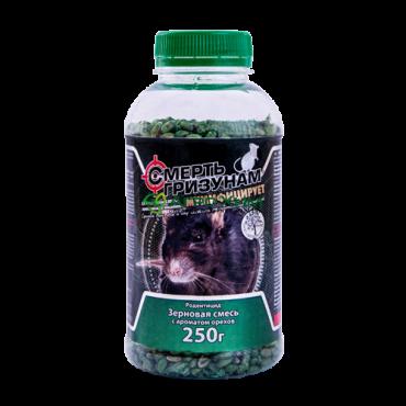 Смерть грызунам 250 г (зерно зеленое, арахис в ПЭТБ)