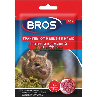 Брос от крыс и мышей 90 г, пакет (гранула)