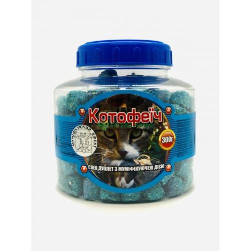 Котофеич 300 г (синие дуплеты в ПЭТБ, карамель)