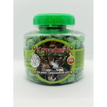 Котофеич 300 г (зеленые дуплеты в ПЭТБ, арахис)