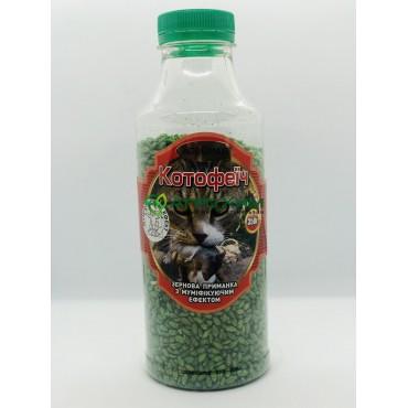 Котофеич 350 г (зеленое зерно в ПЭТБ, арахис)