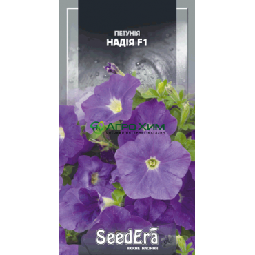 Петуния крупноцветковая низкорослая Надежда 10 шт (Чехия)
