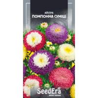 Астра среднерослая Помпонная Смесь 0.25 г