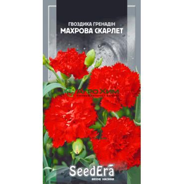 Гвоздика садовая Гренадин Махровая Скарлет 0.2 г