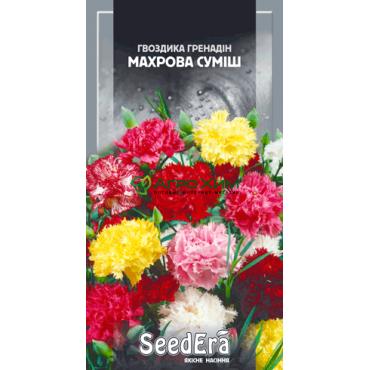 Гвоздика садовая Гренадин Махровая смесь 0.3 г