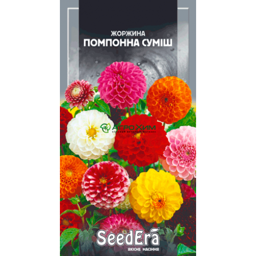 Георгина изменчивая Помпонна смесь 0.5 г