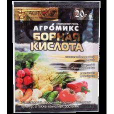 Борная кислота 20 г (Агромикс)