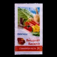 Янтарная кислота (Провентус) 2 г.