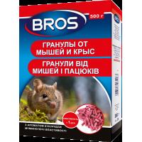 Брос от крыс и мышей 500 г (гранула)