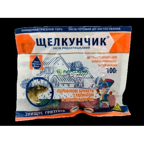 Щелкунчик 100г, пакет (парафиновый брикет)