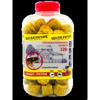 Щелкунчик 320 г, бутылка (желтый брикет, карамель)